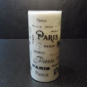 Other - Flameless Candle Pillar Paris Battery Operated